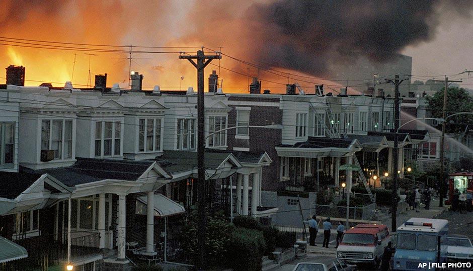 Požár ve Filadelfii