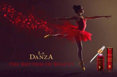 La Danza, švýcarská séra proti stárnutí z kosmetických laboratoří Zepteru.