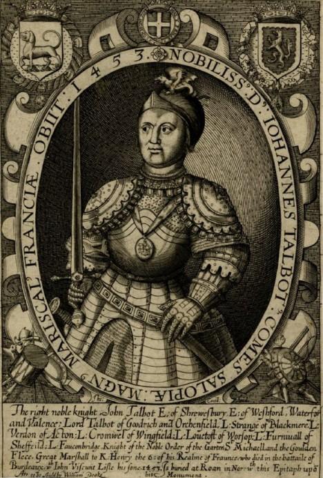 John Talbot nemá proti drobné dívce a rozzuřeným Francouzům žádnou šanci.