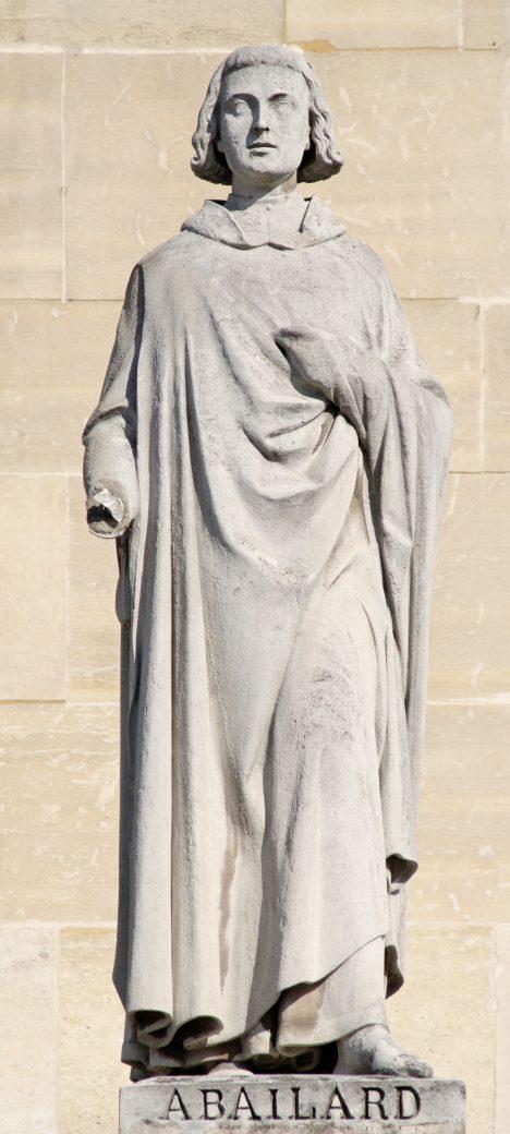 Mnich a filozof Abélard se vášnivě zamiluje do své žačky.