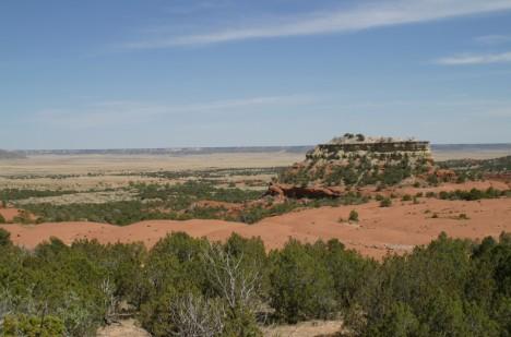 Poklad prý leží někde v pouští Nového Mexika.