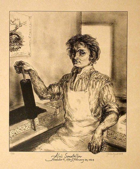 Alois Senefelder sice doma hodně experimentuje, ale k objevu se nakonec dostane náhodou.