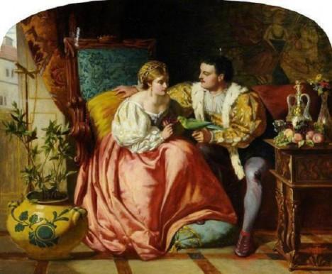 Anna Boleynová se svým chotěm Jindřichem VIII., který při žádné příležitosti nepohrdl dobrým jídlem.