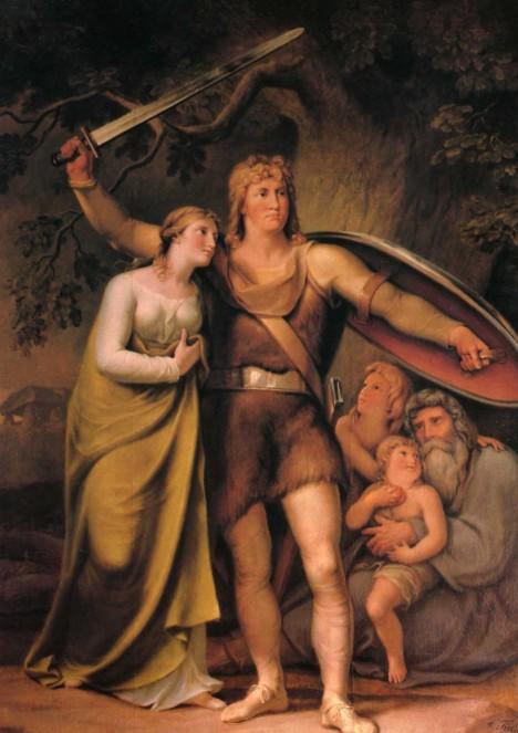 Arminius se navenek tváří jako přítel, ale ve skutečnosti Římany zradí a napadne.