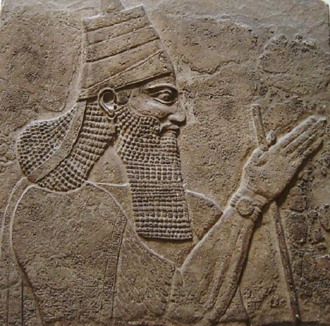 Asyrský král Tiglatpileser III.<span class=