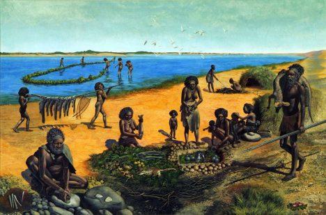 Australští domorodci chodili polonazí.
