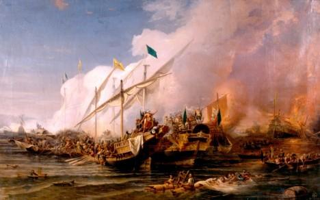Barbarossa má s dobýváním přístavů bohaté zkušenosti. Castelnuovo mu ale dá pořádně zabrat.