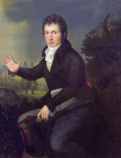 Německý hudbení skladatel Ludwig van Beethoven nikdy dlouho nevydrží bez pozornosti žen.