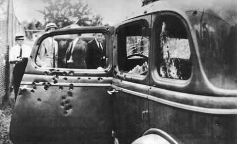 Bonnie+Clyde-car