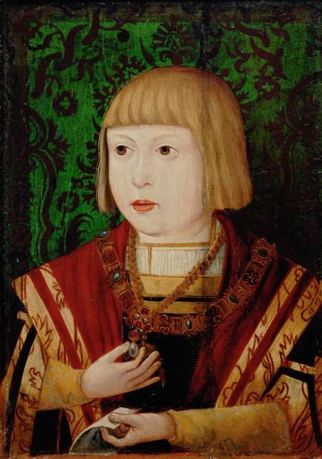 Budoucímu císaři Ferdinandovi I. se jako dítěti dostane toho nejlepšího vzdělání.