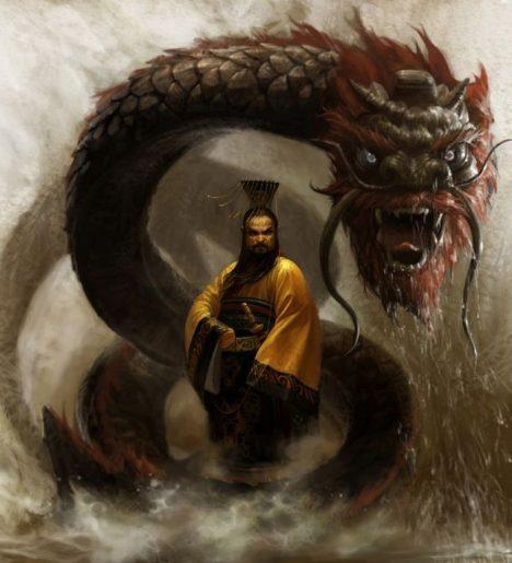 Císař Čchin je schopný vládce i krutý tyran.