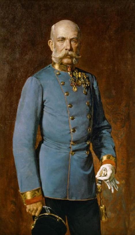 Císař František Josef I. fialkovými cukrovinkami také nepohrdl.