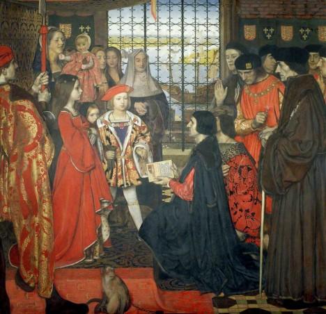 Děti anglického krále dostanou ty nejlepší učitele včetně Erasma Rotterdamského.