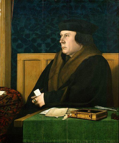 Důkazy k prokázání její viny hledá Thomas Cromwell.