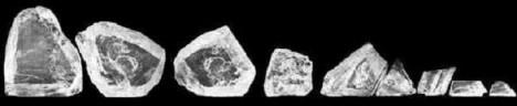 Diamant Cullinan je rozřezán na několik kusů.