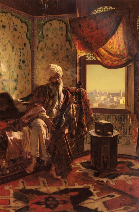Ernst_Rudolf_Smoking_The_Hookah (1)