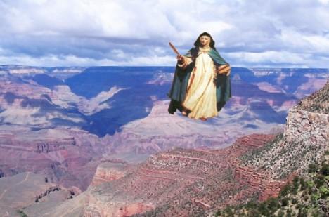 Také španělská jeptiška María de Jesús de Ágreda byla údajně obdařena touto zvláštní schopností.