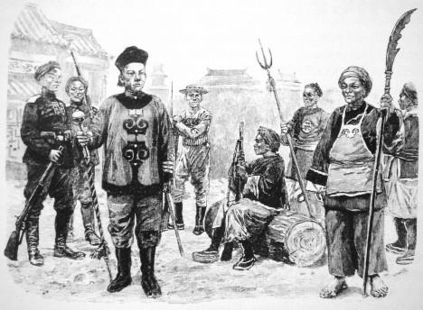 Obávaná armáda rebelů čítala okolo půl milionu vojáků, sloužila v ní totiž většina bojeschopných obyvatel říše, včetně tisíců žen.
