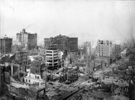 Město Los Angeles čelilo silnému zemětřesení už v roce 1906, tehdy byla velká část města zničena a zahynulo na 3000 lidí.