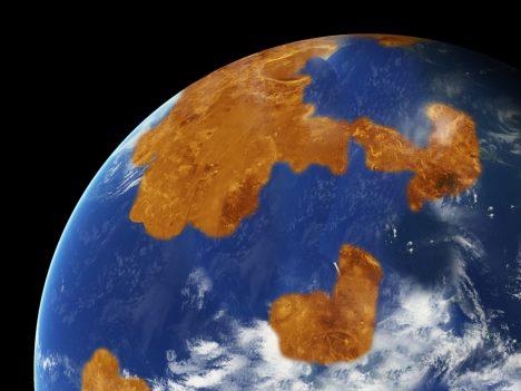Na Venuši se před 3,5 miliardami let vlnil mělký oceán a povrch planety byl dokonce mírně chladnější než povrch dnešní Země.