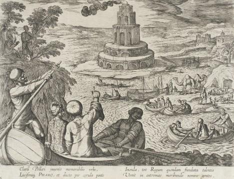 Jeden z divů světa zmizel z povrchu zemského a zůstaly jen historické ilustrace a popisy. Jeho výška se odhaduje na 117 metrů.
