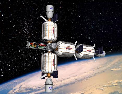 S nafukovacími moduly se počítá pro lety k Měsíci, Marsu nebo k vybudování vesmírných stanic.