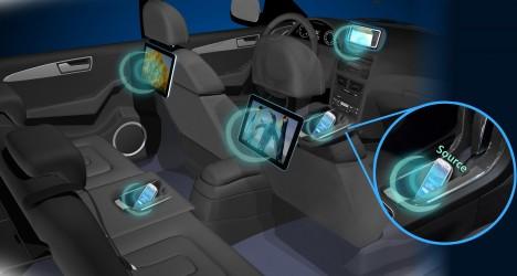K provozu všech elektrických zařízení, například v interiéru automobilu, by stačil jen jeden zdroj energie a žádné kabely.