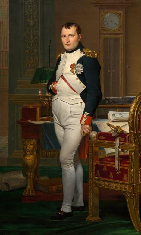 Francouzského císaře Napoleona I. Bonaparta porážka na moři pořádně zaskočí.