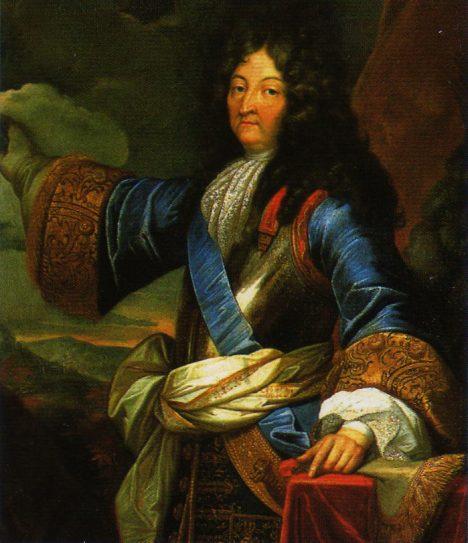 Francouzský král Ludvík XIV. má neobyčejně mlsný jazyk. Trvá na tom, aby se na jeho hostinách objevovala karta s menu.