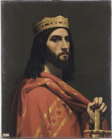 Franský panovník Dagobert si dělá zuby na území dnešní české kotliny. Silná říše sjednocených slovanských kmenů mu není po chuti.