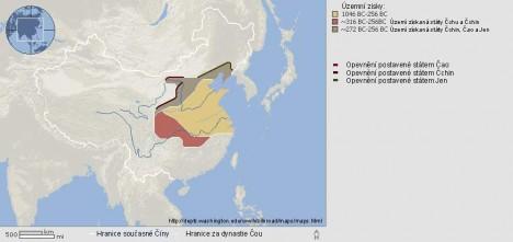 Geniální vojevůdce působí v tzv. epoše válčících států, kdy je Čína rozdělena do několika zemí