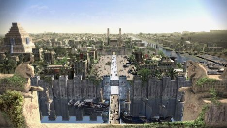 Babylonské paláce se pyšní složitým kanalizačním zařízením.