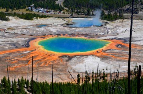 Yellowstone je nádherným, ale nebezpečným kusem přírody.