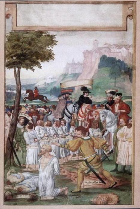 Havíři z kutnohorského dolu Kaňk si všimnou, že těžaři okrádají krále. Na jejich protesty ale nikdo nedá.