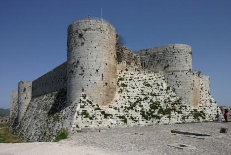 Hrad býval největším křesťanským sídlem na Blízkém východě