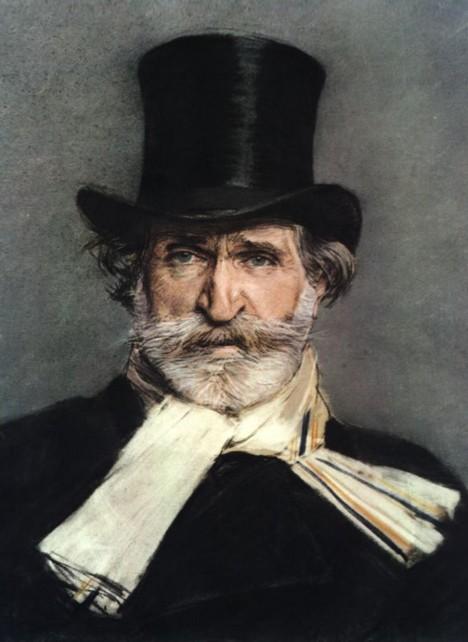 Hudební skladatel Giuseppe Verdi je tak slavný, že mu pošta dojde kamkoliv.