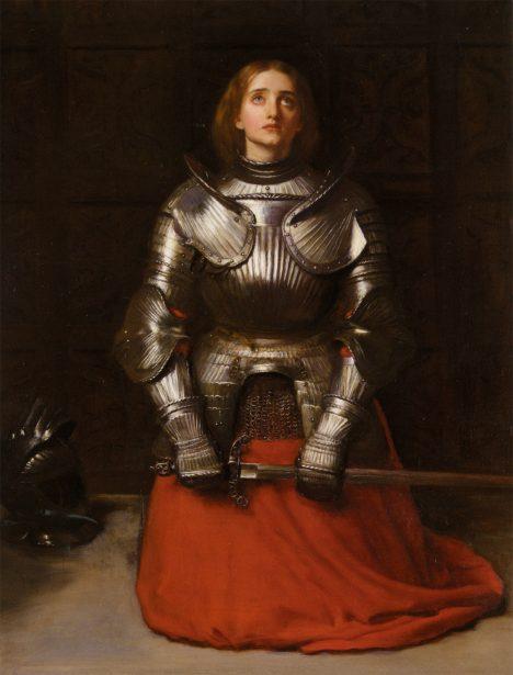 Jako sedmnáctiletá dívenka ze selské rodiny se sama vypravila, aby zachránila Francii před útlakem Angličanů a vrátila jí panovníka. Získala podporu samotného francouzského krále Karla VII. a také obdiv a věrnost svých spolubojovníků. Slyšela prý andělské hlasy a považovala se za vyvolenou. Osud jí pak připravil řadu slavných vítězství, ale také tragický konec. Byla upálena jako kacířka.