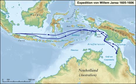 Janszoonovu australskou expedici možná někdo předběhl.