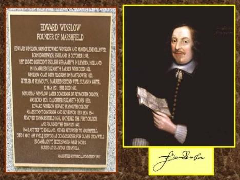 Jediným spolehlivým zdrojem o památné události je dopis anglického kolonisty Winslowa.