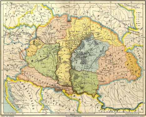 Jedno z možných umístění Wogastisburgu, leží na území Štýrska, spolkové země na jihovýchodě Rakouska.