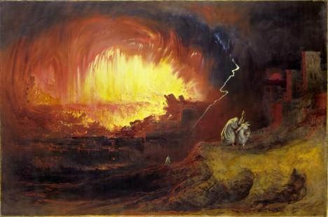 Sodomu měl zničit Bůh. Dnes je symbolem zkaženosti a hříchu.