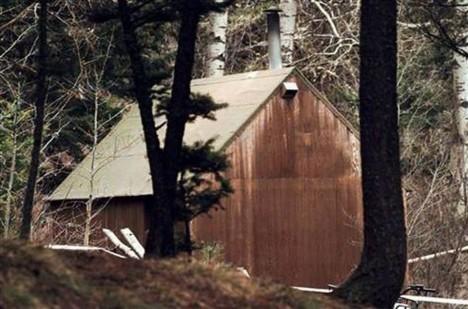 Kaczynského chata je dnes umístěna v Newseum ve Washingtonu, DC.