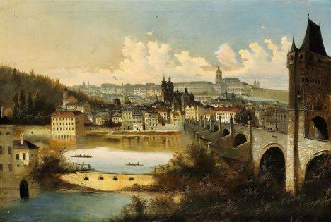 Karlův most už nestačí nákladní dopravě. Nastal čas zbudovat další spojení mezi levým a pravým břehem Vltavy.