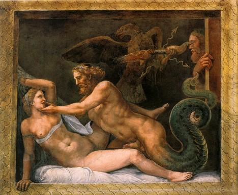 Královna Olympias podle legend zplodila svého syna se samotným bohem Diem.