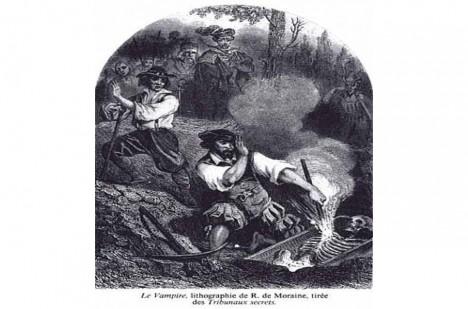 Řádění chorvatského upíra ukončil kůl ze dřeva hlohu.