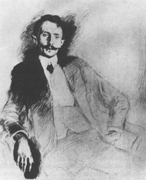 Literární kritik František Xaver Šalda obviňuje Alfonse Muchu, že je lepší obchodník, než malíř.