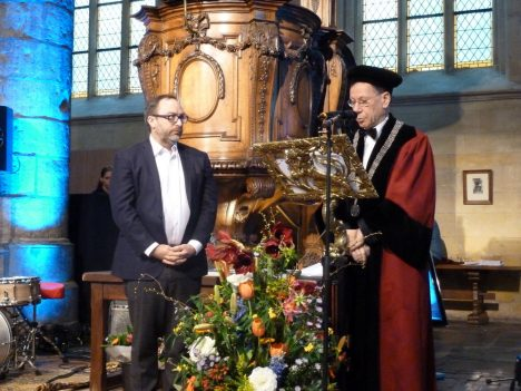 Wales receives an honorary doctorate from Maastricht University, 2015 16 January 2015
