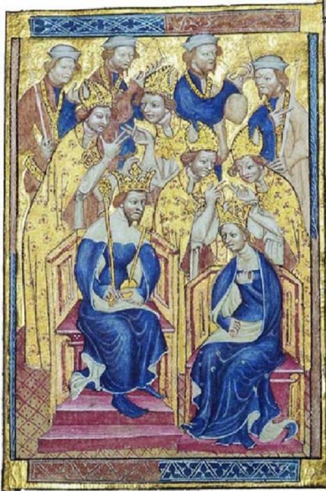 Manželství Richarda II. Plantageneta je vydařené navzdory tomu, že nemají děti.