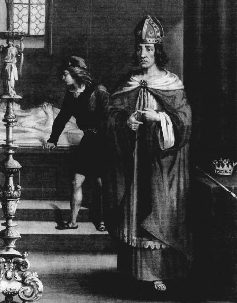 Milostný poměr své matky Václav II. neodsuzuje.