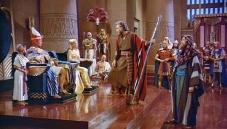 Mojžíš a faraon